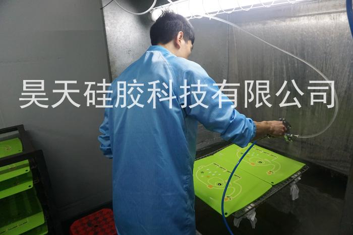 儿童硅胶餐盘_硅胶制品处理加工